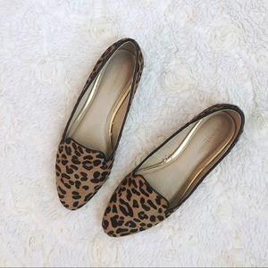 Banana Republic Leopard Loafer Flats 7